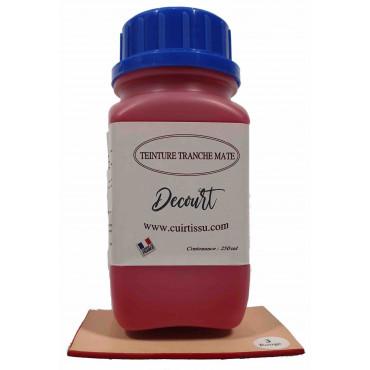 Teinture Tranche Rouge Mat - 250 ml - Decourt